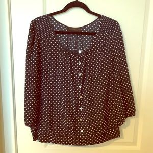 The limited Polka Dot Blouse!